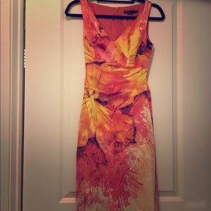 Dress from Karen Millen super flattering!